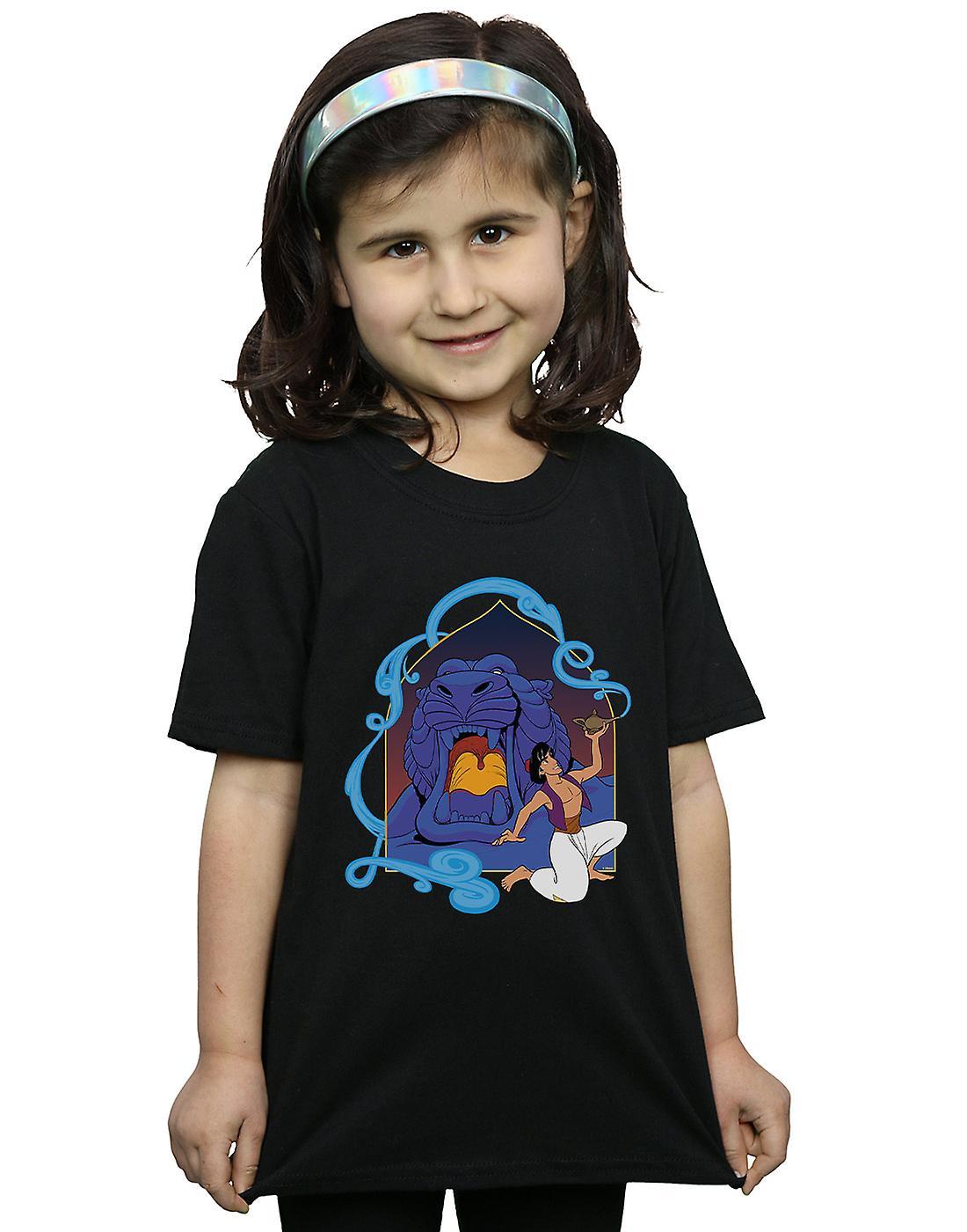 Disney Girls Aladdin Cave Of Wonders T-Shirt
