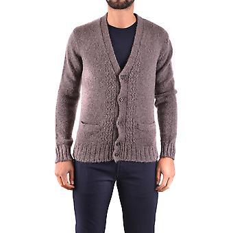 Marc Jacobs Ezbc062046 Uomini's Cardigan di lana marrone