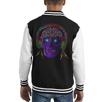 Skull Brain hodetelefoner Kid ' s Varsity jakke