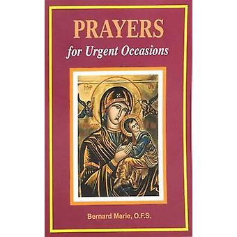 Prayers for Urgent Occasions by Bernard Marie - 9780899429182 Book