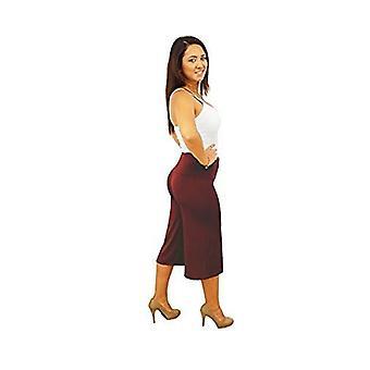 Dbg women's women's gaucho capri wide legged summer pants