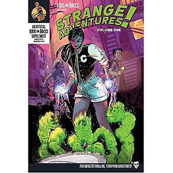 Kids on Bikes RPG Strange Adventures Vol. 1 softcover boek