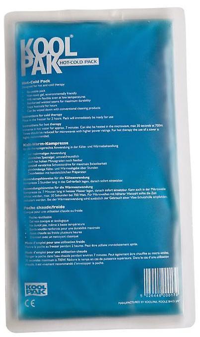 Koolpak gjenbrukbare Hot & Cold Pack 16 x 28cm