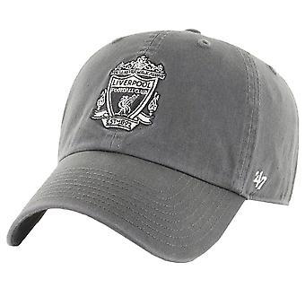 47 merk ontspannen fit cap-FC Liverpool retro logo houtskool