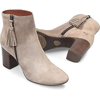 B.O.C Womens Michie Leather Almond Toe Ankle Fashion Boots