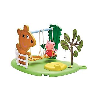Peppa Pig's Outdoor Fun Swing Set