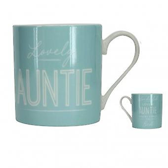 Gisela Graham Lovely Auntie Mug | Gifts from Handpicked