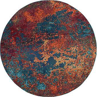 Niebiański Circle Dywany Ces08 Wave Przez Nourison