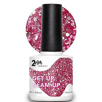 2AM London Paint Me A Festival 2019 LED/UV Gel Polish Collection - Get Up, Glam Up 7.5ml (2E005)