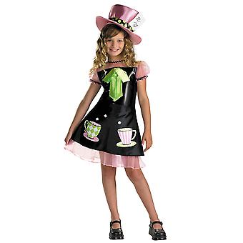 Mad Hatter Alice In Wonderland Tea Party Story Book Week Girls Costume