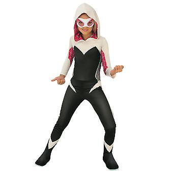 Ghost-Spider Ghost Spider Gwen Marvel Rising Superhero Book Week Girls Costume