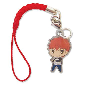Phone Charm Fate/Stay Unlimited Blade Works SD Shirou Metal ge17385