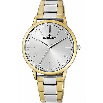 Radiant new goldfish Quartz Analog Woman Watch with RA424202 Gold Plated Stainless Steel Bracelet