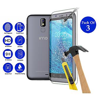 Pack of 3 Tempered Glass Screen Protection For IMO Q2 Plus 4