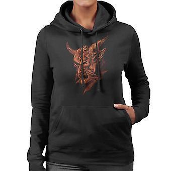 Alchemy Lord Of Illusion Women's Hooded Sweatshirt