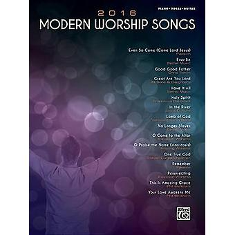 2016 Modern Worship Songs - Piano/Vocal/Guitar - 9781470635206 Book