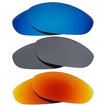 Polarized Replacement Lenses for Oakley Monster Dog Sunglasses Anti-Scratch Anti-Glare UV400 by SeekOptics