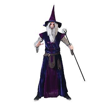 Magier Zauberer Hexer Herrenkostüm one size
