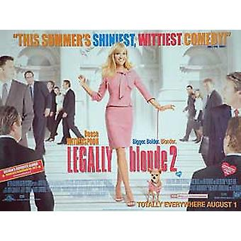 Legally Blonde 2: Red, White & Blonde (Regular) Original Cinema Poster
