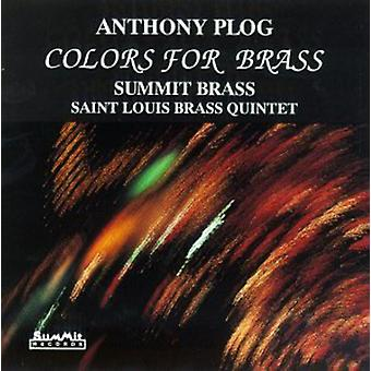 Summit Brass - Anthony Plog: Colors for Brass [CD] USA import