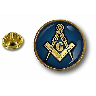 Pins Pin Badge Pin's Metal Button Blason Franc Macon Maconnerie Masonic