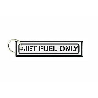 Porte cles aviation keychain voiture carburant jet fuel only avion r5