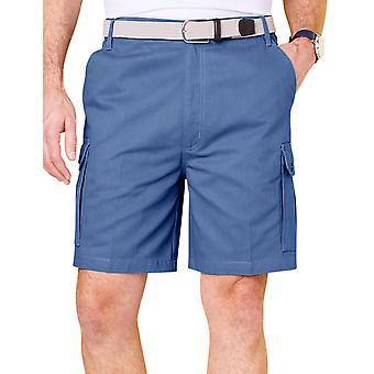 Chums menns bomull cargo shorts med side elastisk
