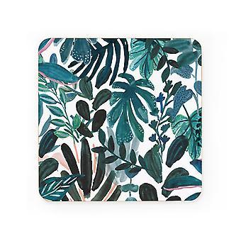 Ohh Deer Jungle Print Coaster