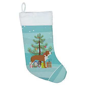 Spanish Hound Merry Christmas Tree Christmas Stocking