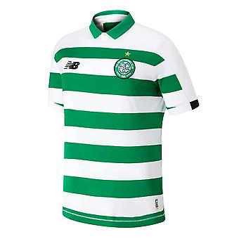 New Balance Boys Celtic Home Shirt T-Shirt Tee Tank Top 2019 2020 Junior