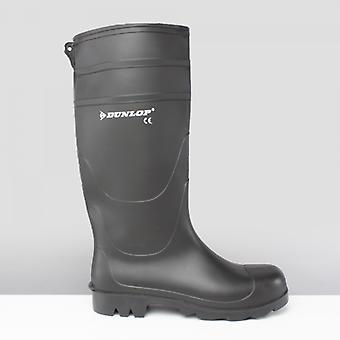 Dunlop Universal mens icke-säkerhet Wellington stövlar svart