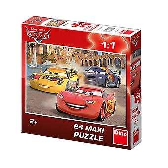 Dino Toy Disney Samochody Motif Maxi Puzzle (350151)