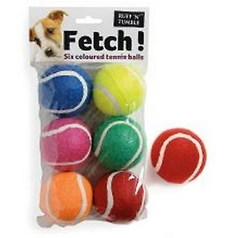 Ruff N Tumble Tennis Balls (6 Pack)