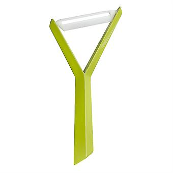Koziol Kant Y Shaped Vegetable Peeler - Mustard Green