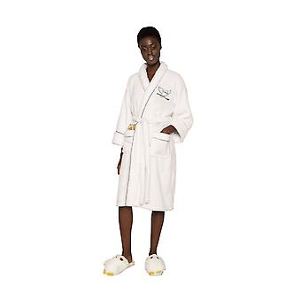 Womens Hedwig Harry Potter Sparkly Fleece Robe Dressing Gown