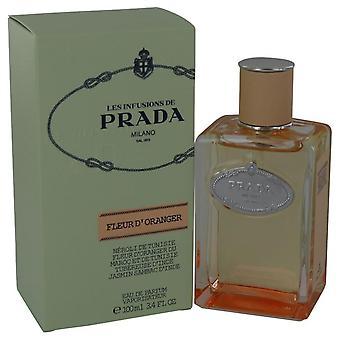 Prada infuusio de fleur d'oranger eau de parfum spray by prada 465557 100 ml