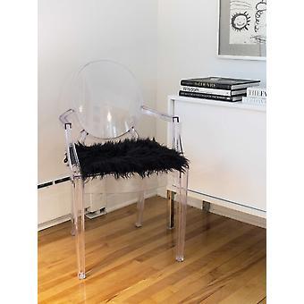 """16"""" x 16"""" x 2"""" Black Laredo - Seat Cushions"""