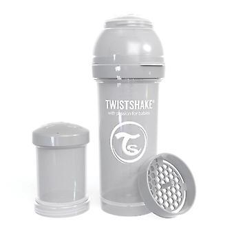 Twistshake Baby Bottle Anticolic 260Ml - Pastel Grey