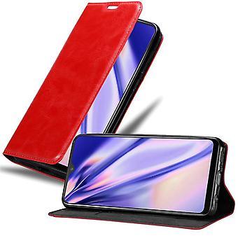 Cadorabo tapauksessa Vivo Y95 tapauksessa tapauksessa kattaa - matkapuhelin tapauksessa magneettinen lukko, seistä toiminto ja korttiosasto - Case Cover suojakotelo tapauksessa kirja folding tyyli