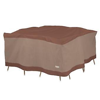 Le canard couvre la table carrée et la chaise ensemble couverture 68In W