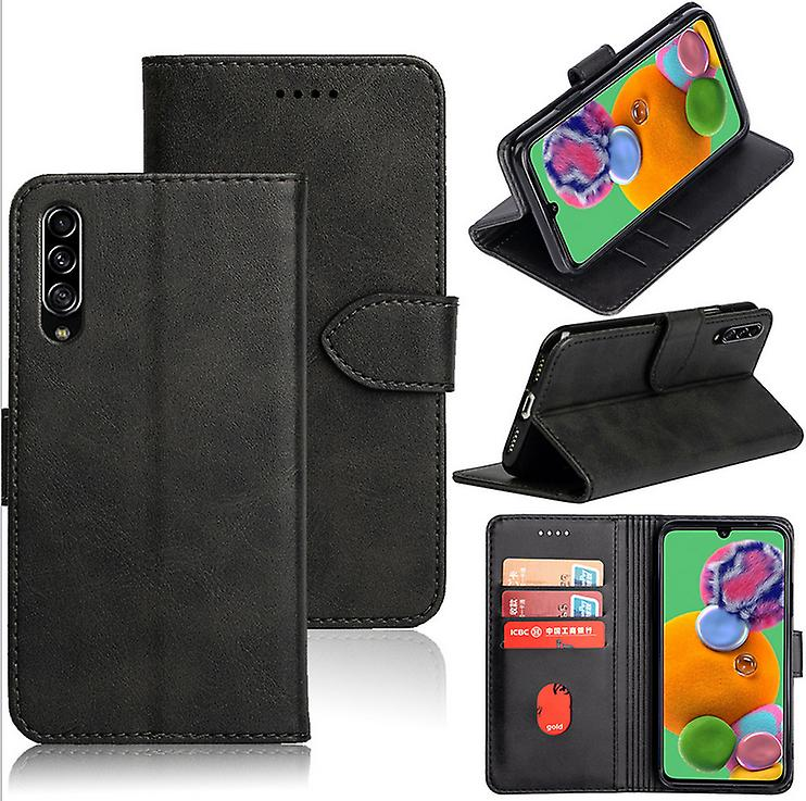 CaseGate phone case for Samsung Galaxy A90 5G case cover - with lock closure, stand function and card compartment