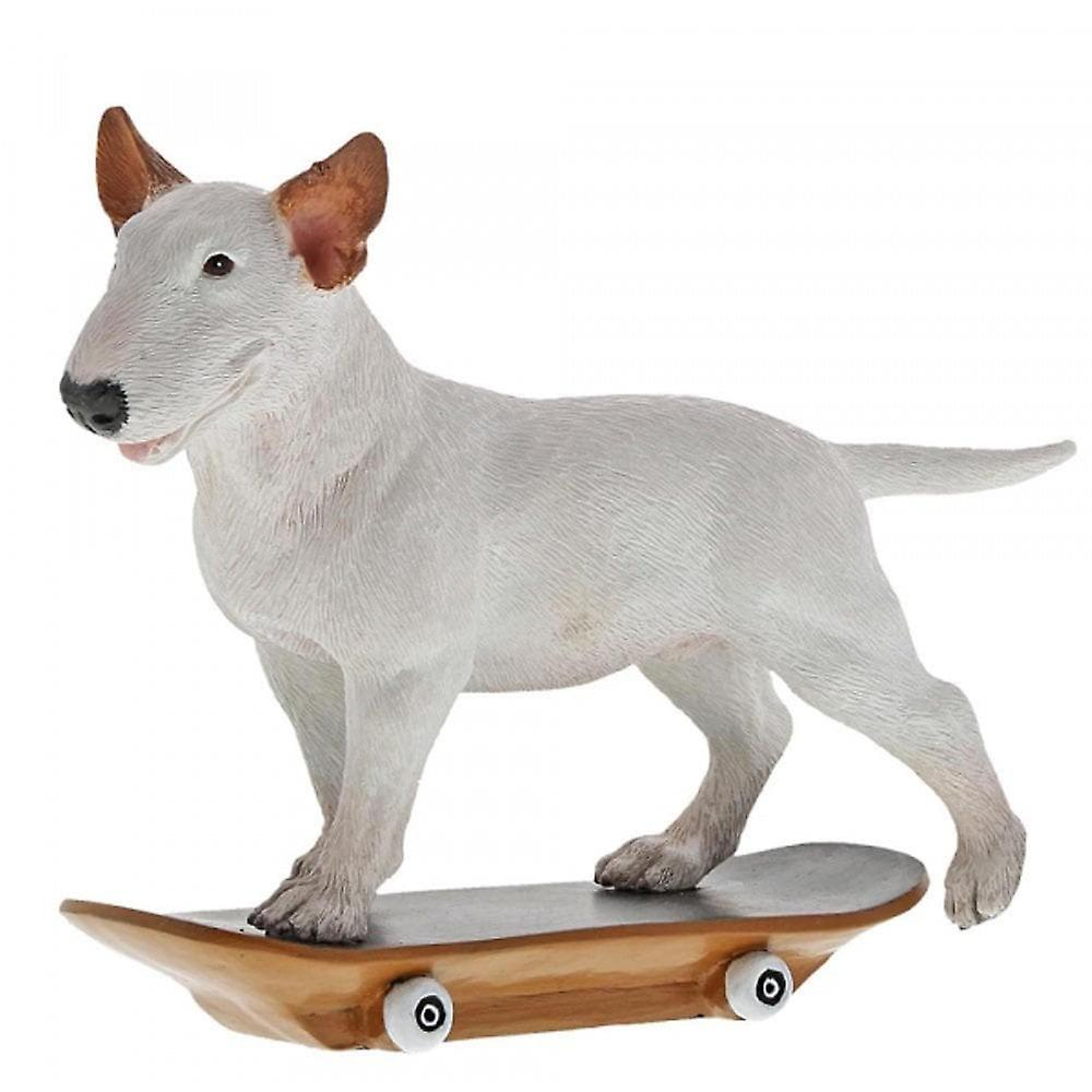 Enesco Jimmy The Bull -  Skateboard Figurine