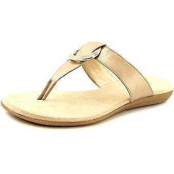 Aerosoles Womens Supper Chlub Split Toe Casual Slide Sandals