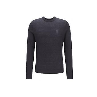 Hugo Boss Casual Hugo Boss Dark Blue Sweater