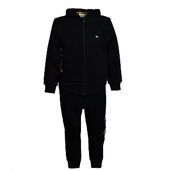 Hugo Boss Boys Hugo Boss Boy's Black Tracksuit