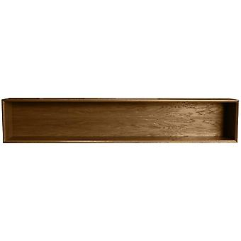 Fusion Living Danish Walnut Bookshelf