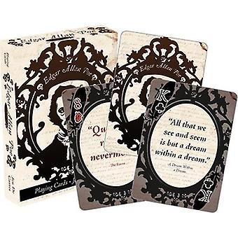 Edgar allen poe playing cards