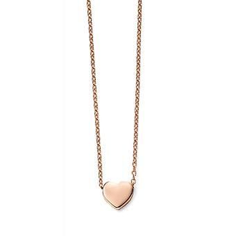 Joshua James Precious 9ct Ros Guld Sweetheart Halsband