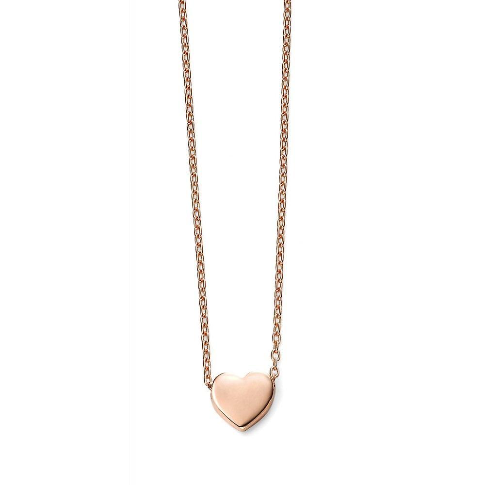 Joshua James Precious 9ct Rose Gold Sweetheart Necklace