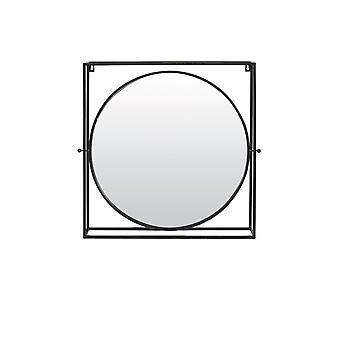 Light & Living Mirror 65x12x65.5cm Ritual Antique Black And Bronze